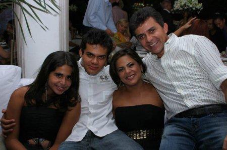 ... com família